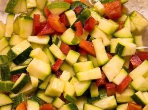 Салат из цуккини