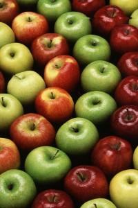 Яблоки защищают тромбы