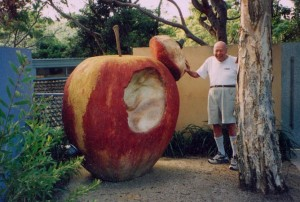 Гигантское яблоко