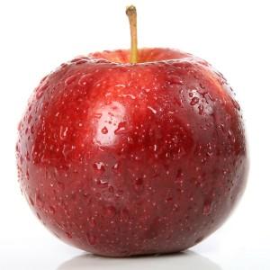 Настоящее крупное яблоко