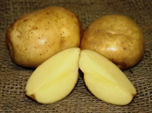 Разрезанный картофель