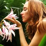 Запах садовых цветов